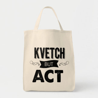Schlep n'Kvetch with this Tote Bag