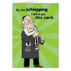 Schlepping Rosh Hashanah Card