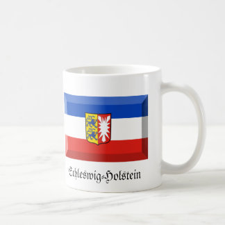 Schleswig-Holstein Flag Gem Basic White Mug