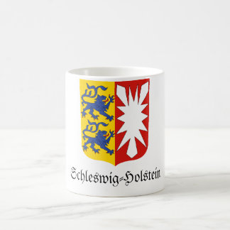 Schleswig-Holstein Wappen Coat of Arms Coffee Mugs