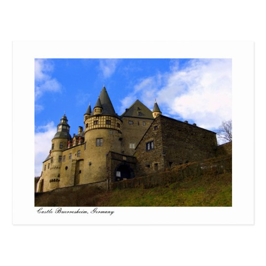 Schloss Buerresheim, Castle Buerresheim Postcard