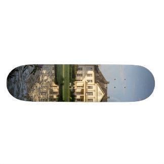 Schloss Buldern Dülmen Rhine-Westphalia Germany Skate Board