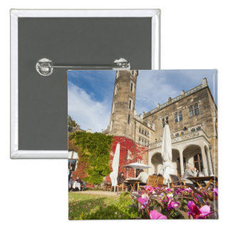 Schloss Eckberg Castle, Germany 15 Cm Square Badge