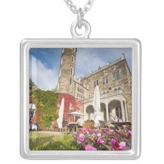 Schloss Eckberg Castle, Germany Silver Plated Necklace