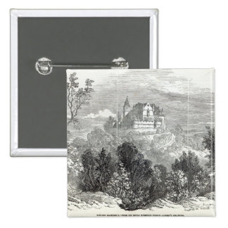 Schloss Kalenberg 15 Cm Square Badge