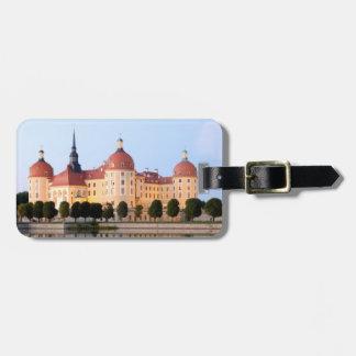 Schloss Moritzburg Luggage Tag