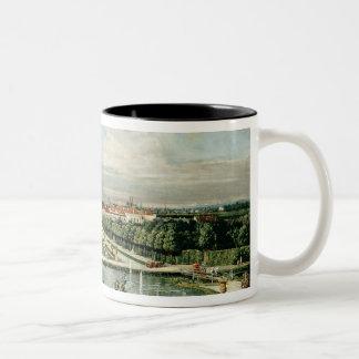 Schloss Nymphenburg, 1761 Two-Tone Coffee Mug
