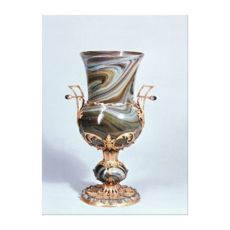 Schmelzglas by Salviati and Co. of Venice Canvas Print
