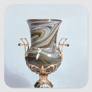 Schmelzglas by Salviati and Co. of Venice Square Sticker