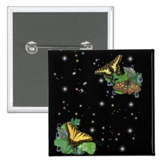 Schmetterlinge Anstecknadelbutton