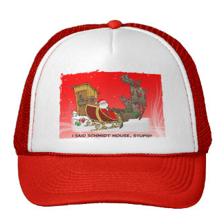 Schmidt House Funny Christmas Hat