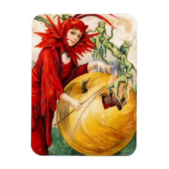 Schmucker: Witch's Wand Rectangular Photo Magnet
