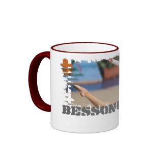 Schmutziger Grenzwecker-Becher Tee Tasse
