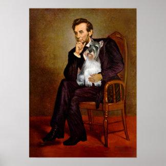 Schnauzer 11N - Lincoln Poster