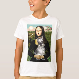 Schnauzer 1cr - Mona Lisa T-Shirt