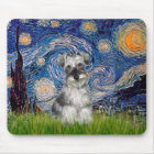 Schnauzer 1N - Starry Night Mouse Mat