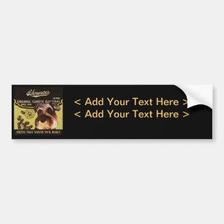 Schnauzer Brand – Organic Coffee Company Bumper Sticker