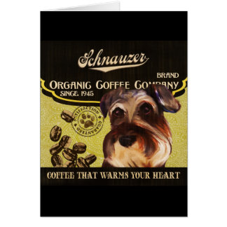 Schnauzer Brand – Organic Coffee Company Card