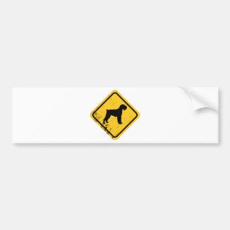 Schnauzer Bumper Sticker