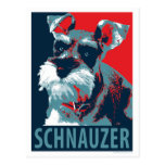 Schnauzer by Hope Dogs Postcard