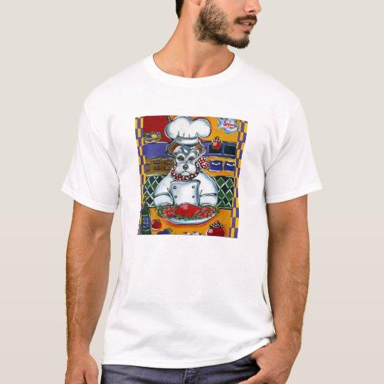 Schnauzer Chef T-Shirt