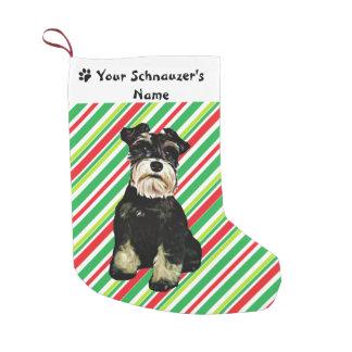 Schnauzer Christmas Stocking