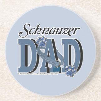 Schnauzer DAD Coaster