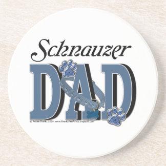 Schnauzer DAD Coasters