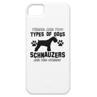Schnauzer dog breed designs iPhone 5/5S cover