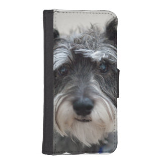 Schnauzer Dog iPhone SE/5/5s Wallet Case