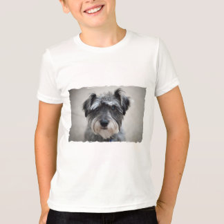 Schnauzer Dog Kid's T-Shirt