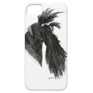 Schnauzer dog, tony fernandes iPhone 5 cover