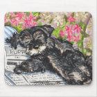 Schnauzer Dreams Print Mouse Mat