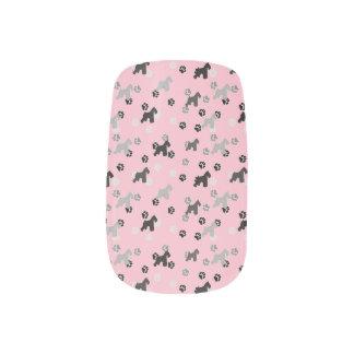 Schnauzer Finger Nail Art