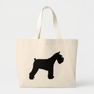 Schnauzer Gear Large Tote Bag