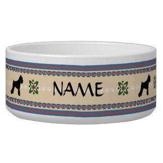 Schnauzer Good Dog Large Bowl