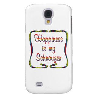 Schnauzer Happiness Galaxy S4 Case