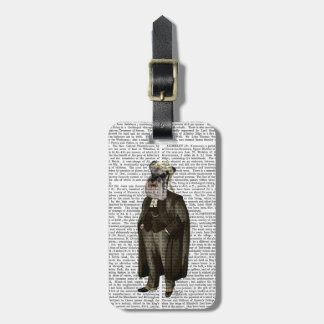 Schnauzer Lawyer Luggage Tag