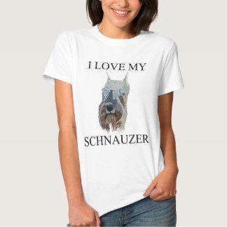 SCHNAUZER Love! T Shirts