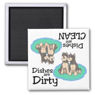 Schnauzer Lovers Dishwasher Magnet