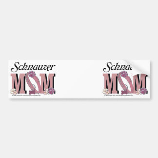 Schnauzer MOM Bumper Sticker