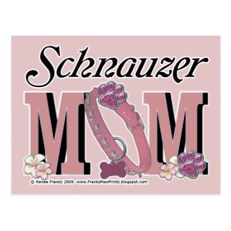 Schnauzer MOM Postcard