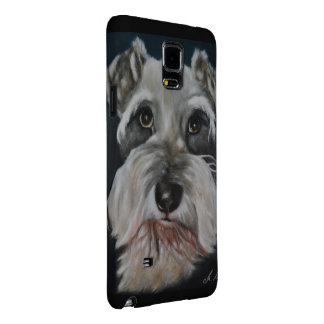 Schnauzer- Phone Cover Galaxy Note 4 Case