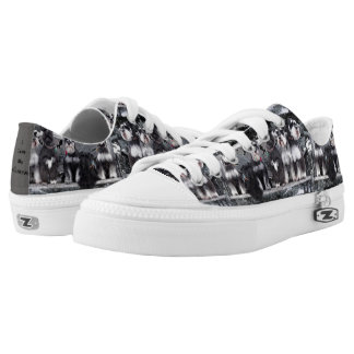 Schnauzer Shoes Printed Shoes