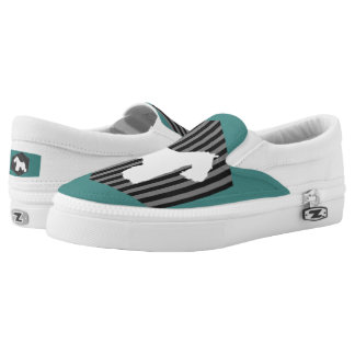 Schnauzer Stripe Shoes Printed Shoes
