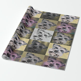 Schnauzer Wrapping Paper for all occassions