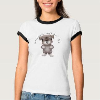 Schnauzers Have More Fun T Shirt