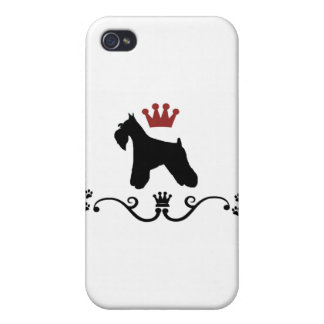 Schnauzers Rule iPhone 4/4S Case
