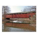 Schnecksville Covered Bridge Postcard