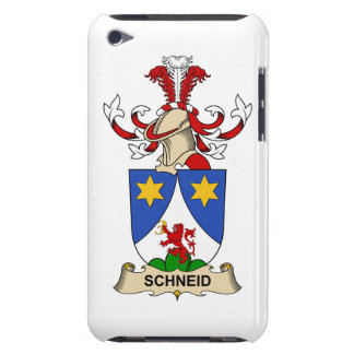 Schneid Family Crest Case-Mate iPod Touch Case